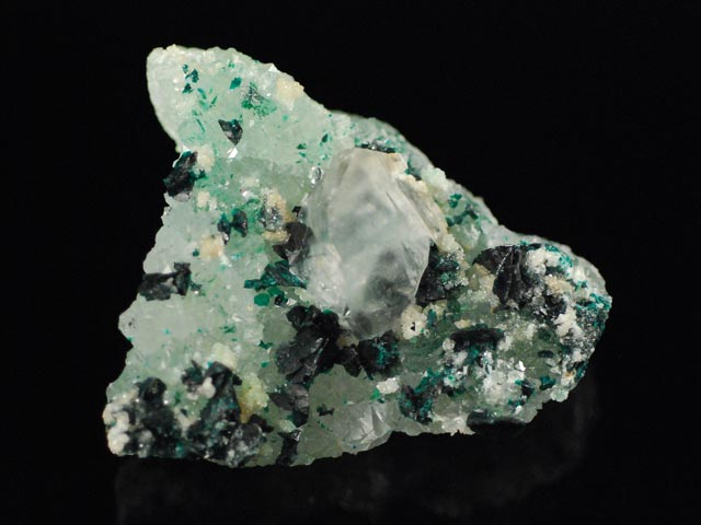 Clinoatacamite, Quartz, Gypsum