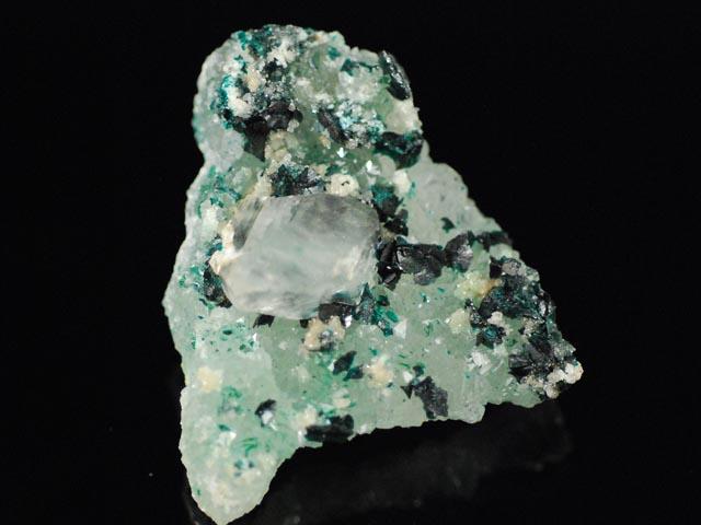 Clinoatacamite, Quartz, Gypsum
