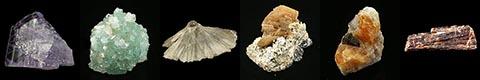 gallery of minerals  boracite, datolite, dravite, fluoborite, hambergite, henmilite, johachidolite, hydroboracite, kurnakovite, ludwigite, magnesioaxinite, manganaxinite, nobleite, painite, rhodizite, roweite, serendibite, sussexite, ulexite, and veatchite.